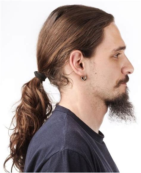 ponytail hairstyle men line up 15 collection of long hairstyles in a ponytail