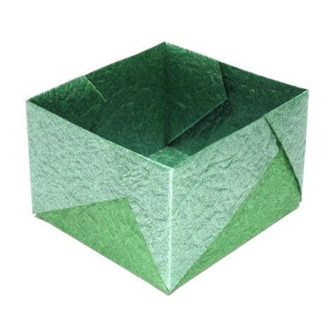 How To Make A Paper Square Box - 17 best images about origami box on