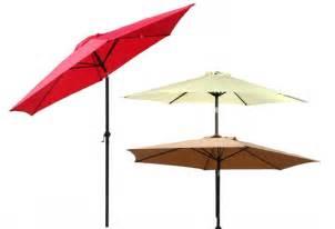 Patio Umbrella Deals Deal Of The Day Save 63 On 9 Foot Patio Market Umbrella