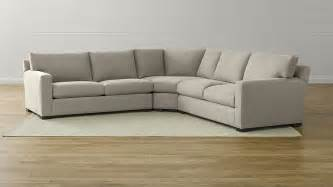Sectional Sofa Axis Ii 3 Sectional Sofa Douglas Nickel Crate And