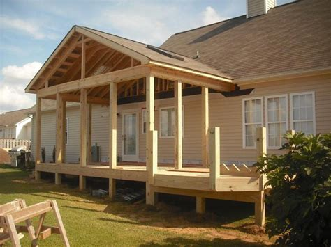 screen porch building plans screened porch building plans