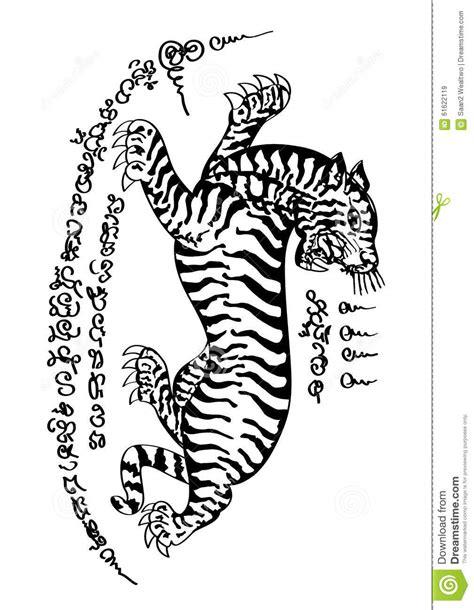 tattoo thai style stock vector illustration of thai