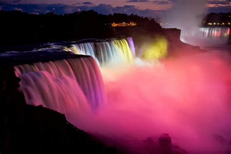 Festival Of Lights Niagara Falls by Niagara Falls Winter Festival Of Lights Theveiledchamber