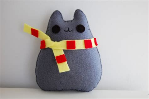 Handmade Plush - pusheen cat handmade plush doll