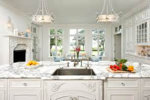 French Country Kitchen Cabinets by Elegant White Kitchen Cabinets