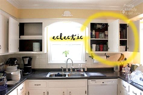 open kitchen cabinet fabric backed open kitchen cabinets diy on a dime the