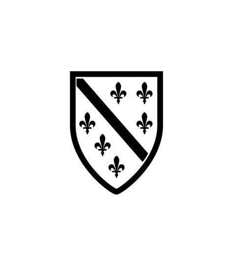 Blaues X Aufkleber Auto Bedeutung by Car Tattoo Aufkleber Bosnien Wappen