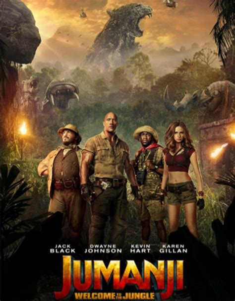 jumanji film poster sneak peak another poster of jumanji welcome to the