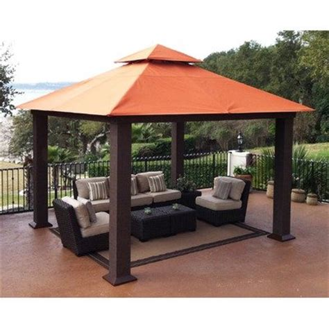 Outdoor Patio Gazebo 12x12 Canopies Shades Stc Gz734 Seville Gazebo 12x12