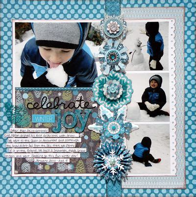 Snow Layout by Snow Falling On Winter Twig With Cycling Team Member