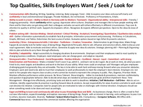 5 skills employers want that you wont see in a job ad fortune