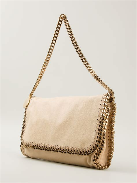 Stella Mccartney Saddle Bag by Lyst Stella Mccartney Falabella Shoulder Bag In