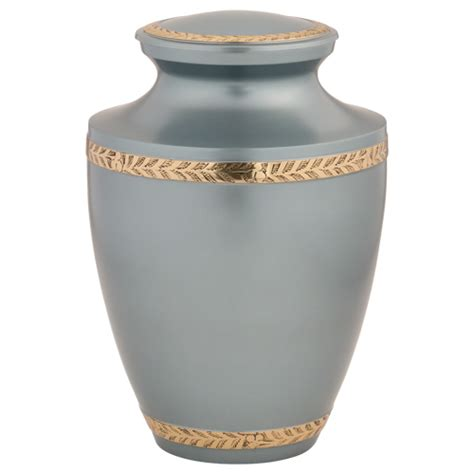 urns for ashes augusta pearl gray brass urn for ashes