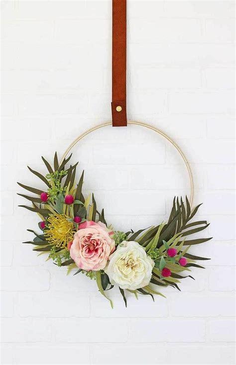 modern wreaths 25 best ideas about modern wreath on