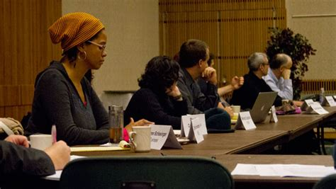 ithaca college themes and perspectives faculty council discusses communication with committees