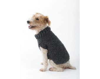 paper pattern for dog coat the poet dog sweater crochet lion brand yarn