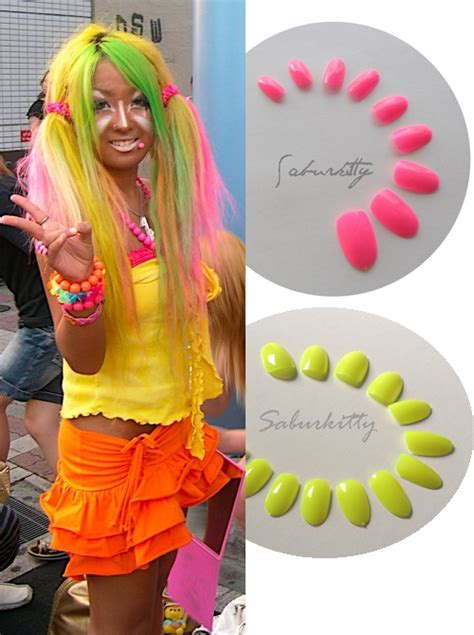 D Nail Art By Saburkitty Designs Top  Examples Of Costume Nail Art For Cosplay