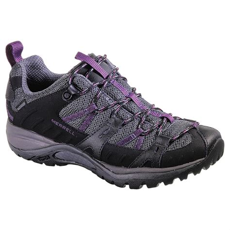 womans hiking boots s merrell 174 siren sport 2 waterproof hiking shoes