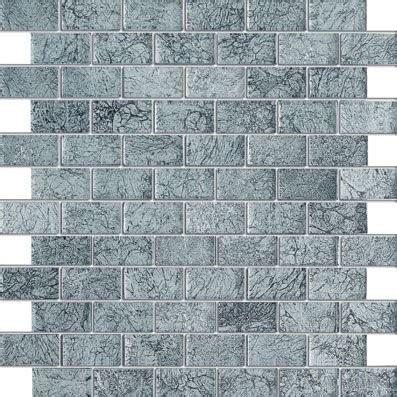 1 x2 ceramic mosaic tile silver crest galaxy series 1 quot x2 quot glass mosaic tile