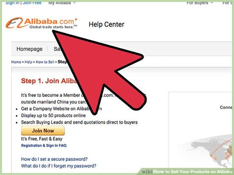 Sell Product how to sell your products on alibaba with pictures wikihow