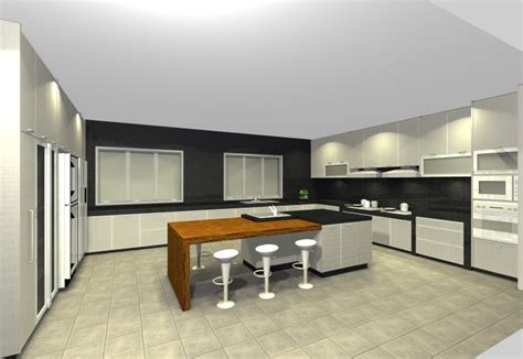 dry kitchen design cabino design dry wet kitchen mutiara damansara