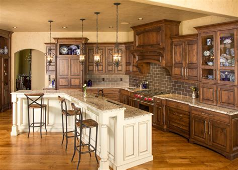 oak woodwork llc beaded inset cabinetry traditional kitchen kansas