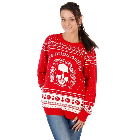 christmas jumper the bog lebowski uk s the big lebowski the dude abides sweater
