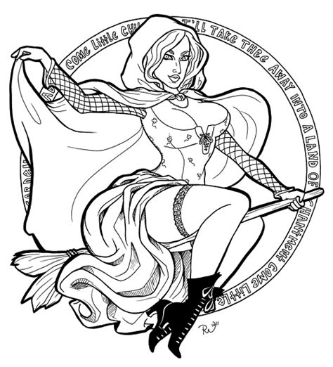 hocus pocus halloween witch pages coloring pages