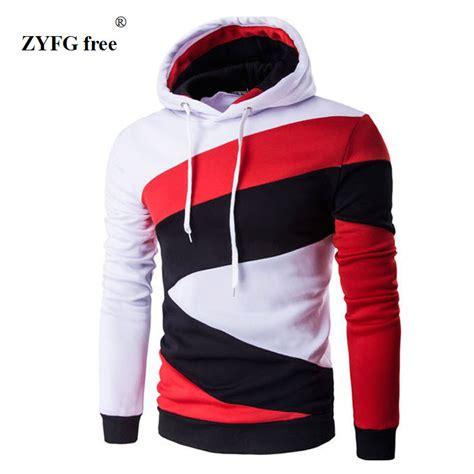 geometric pattern long sleeve hoodie aliexpress com buy hooded men s 2017 tops brand male