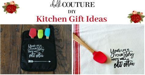 chalk couture diy kitchen gift ideas chalking series
