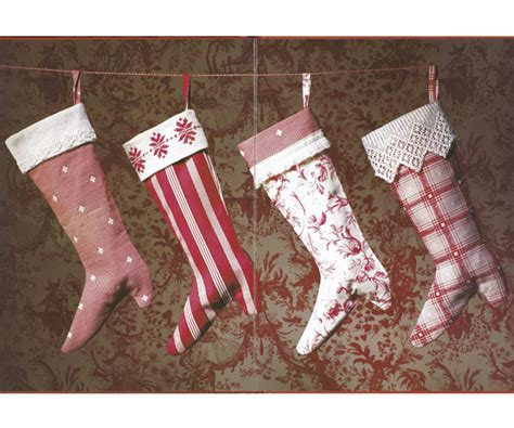 holiday craft victorian christmas stockings