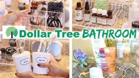 50 diy bathroom decor and organization ideas youtube dollar tree bathroom organization youtube