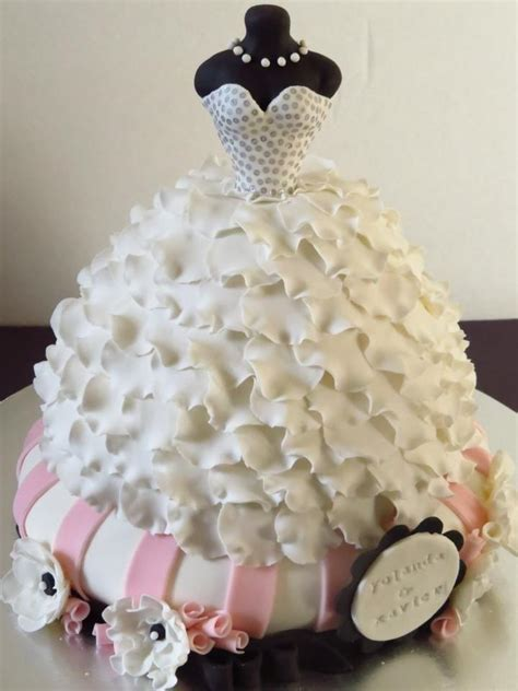 dress cake cake sweet confections cakery facebook 1975528 weddbook
