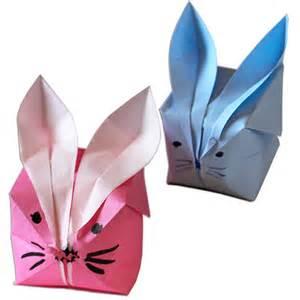origami le origami papier pour paques des idees de pliages faciles