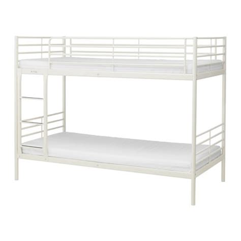 White Ikea Bunk Bed Sv 196 Rta Bunk Bed Frame Ikea