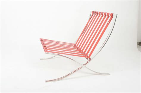 Barcelona Chair Comfortable by Barcelona Chair Pavilion Chair In Stainless Steel