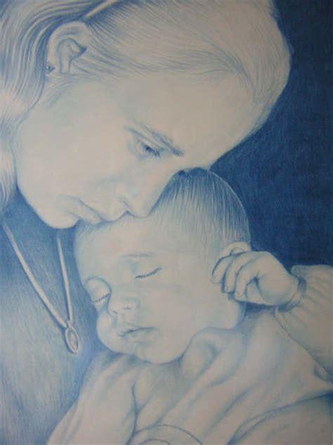 imagenes a lapiz para una madre madre e hija dibujo imagui