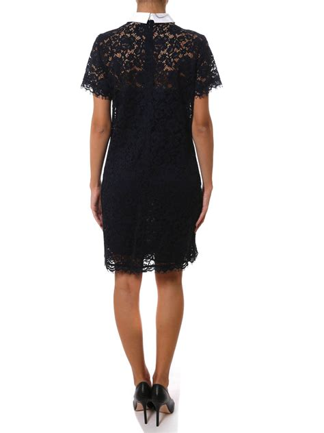 Sleeve Lace Sheer Dress sleeve sheer lace dress by michael kors