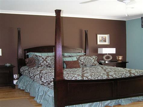Bedroom Blue Paint Ideas Decorations Blue Brown Modern Interior Bedroom Paint