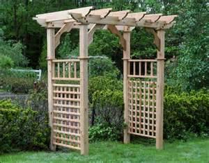 Wood Arbor Kits Wood Arbors Arbor Kits Fifthroom