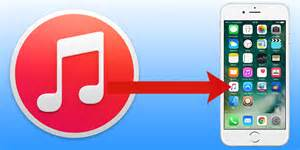 Drag and drop method to copy music from itunes to iphone
