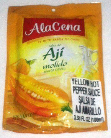 alacena salsa de aji molido alacena salsa de aji molido yellow hot pepper sauce 100 ml