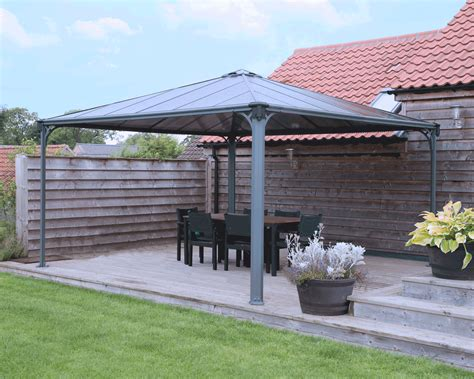 fixed gazebo harlington 4300 garden gazebo the canopy shop
