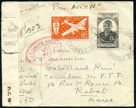 Comptoirs Français En Inde by Les Comptoirs En Inde 1945 1950