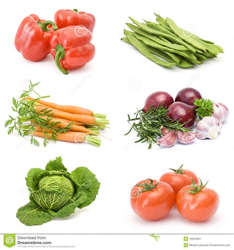 collection of fresh vegetables royalty free stock photography image 18941807