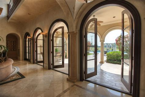 Arched French Doors Wood ? Prefab Homes : Sweet Curtains Arched French Doors