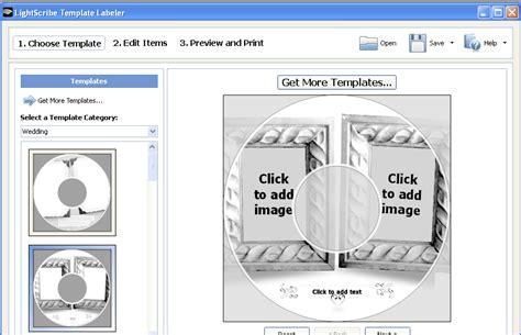 lightscribe template designs wedding pack software