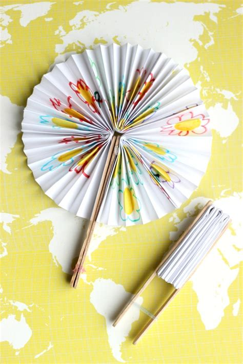 easy new year projects diy new year fans