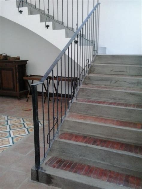Iron Grill Design For Stairs Stair Railing Simple Design Wrought Iron Railings Philippines Glass Railing Tempered Glass