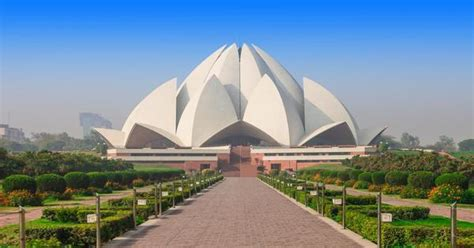 temple of lotus lotus temple new delhi india location facts history